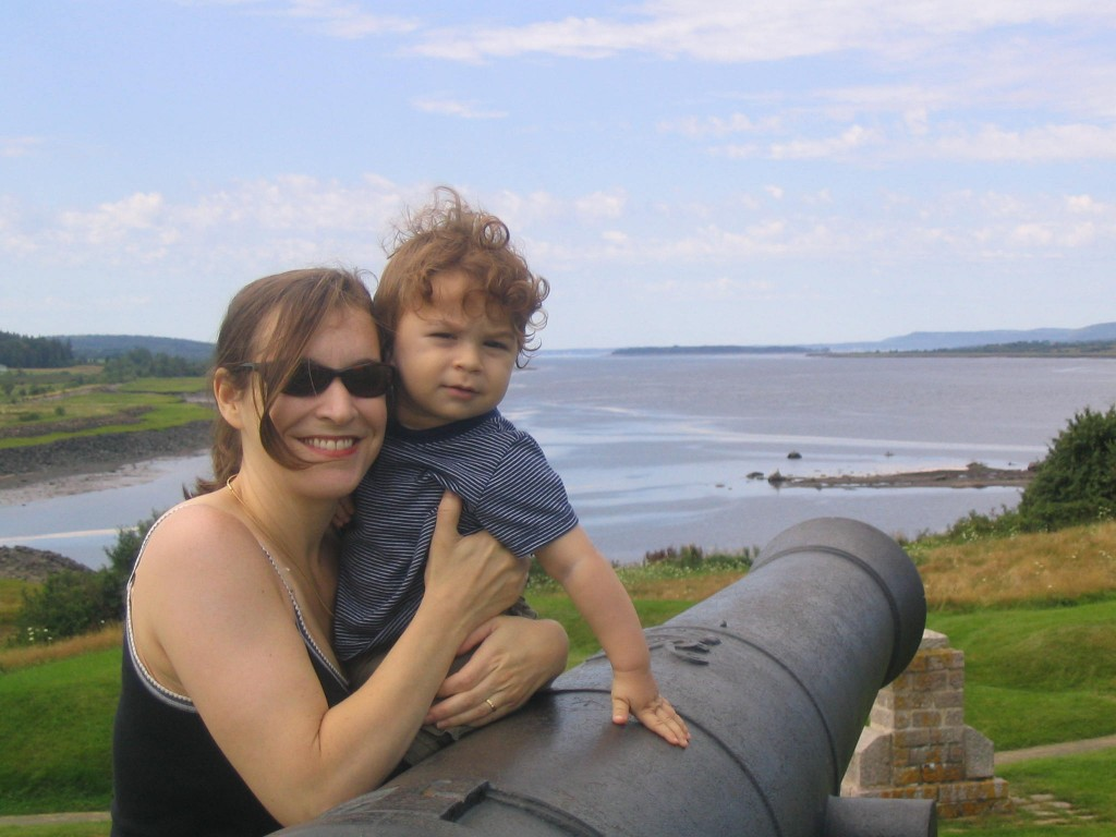 Fort Anne National Historic Site in Annapolis Royal, Nova Scotia