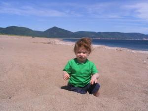 Dingwall Beach, adjacent Cabot's Landing Provincial Park