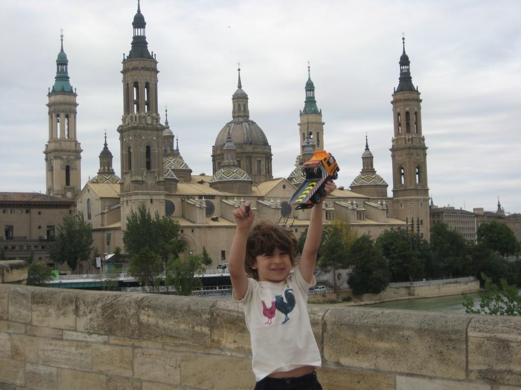 Benjamin in Zaragoza