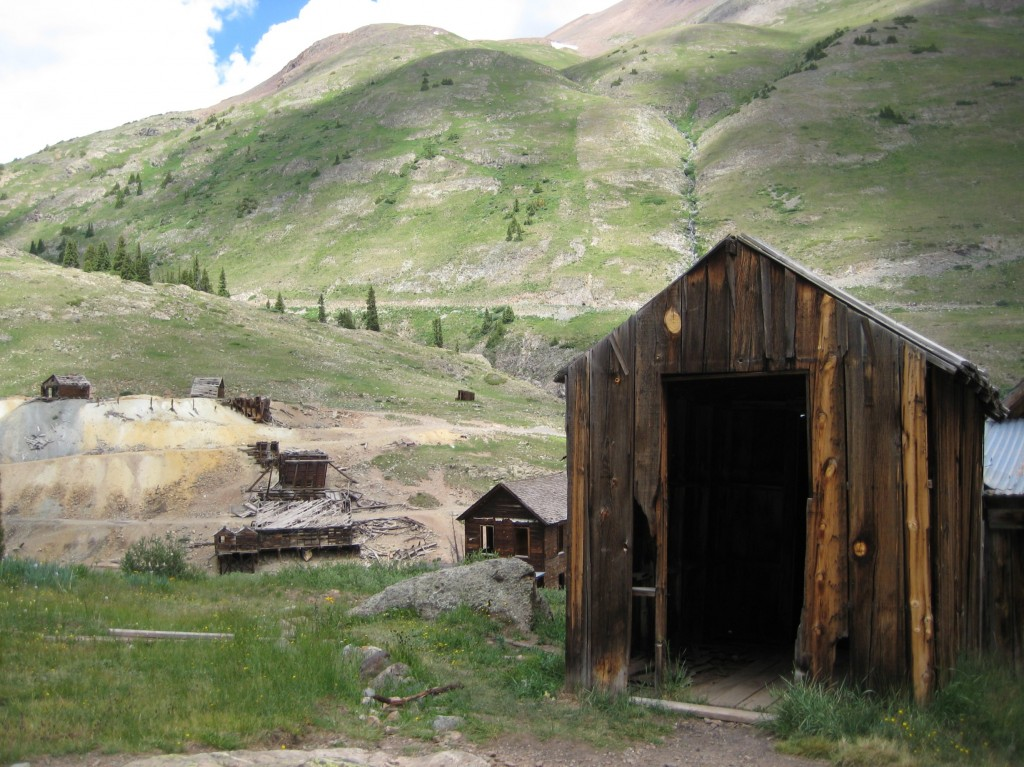 Animas Forks Ghost Town, outside Silverton, Colorado