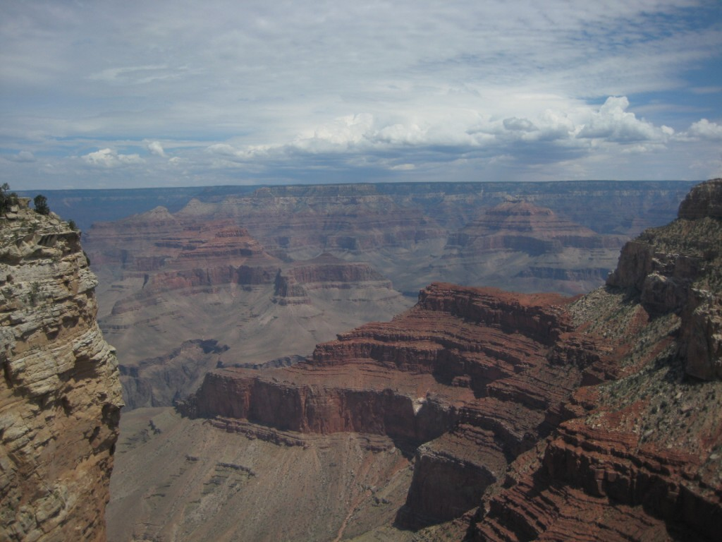 View from the Grand Canyon Rim Trail